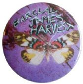 Barclay James Harvest - 'Butterfly' Button Badge